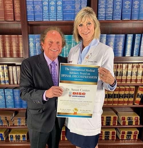 Dr. Susan Cunico Getting Award