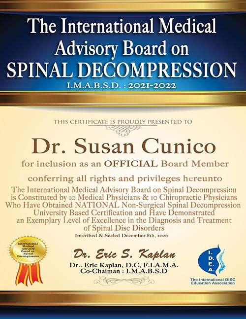 Dr. Cunico Appointed to The IMABSD